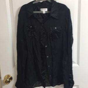 Isaac Mizrahi blouse
